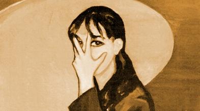 PROPORCIONES 01. Autorretrato (100 x 81) cm - Óleo sobre lienzo