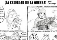 ¡LA CRUELDAD DE LA GUERRA! – UnaSopa