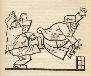 """Ilustración para """"Las Aventuras del Buen Soldado Svejk"""