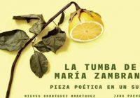 EL SUEÑO POÉTICO DE MARÍA ZAMBRANO